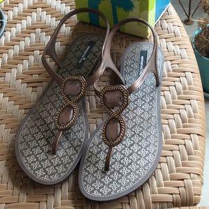 Montgomery Bay Club Bronze Rockstar Sandals